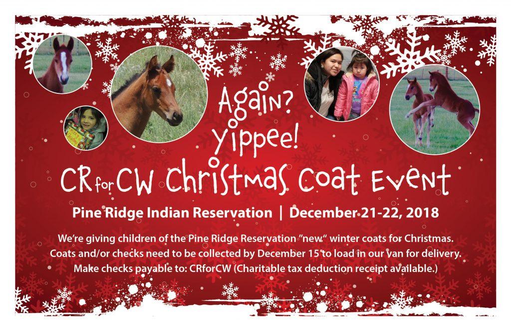 Pine Ridge Indian Reservation Coat Event